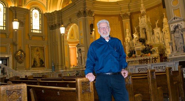 Father Begin of Saint Coleman's Church