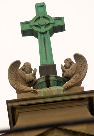 Sait Coleman's Church angels