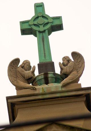 Sait Coleman's Church angels