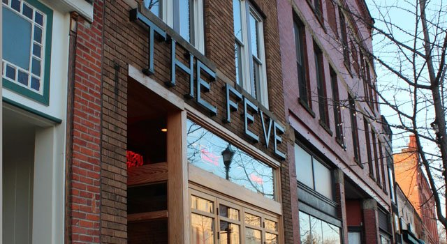 Oberlin's popular restaurant/bar, The Feve