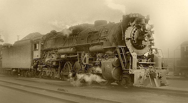 """The Berkshire 744 often called the """"Van Sweringen""""  Berkshire."""