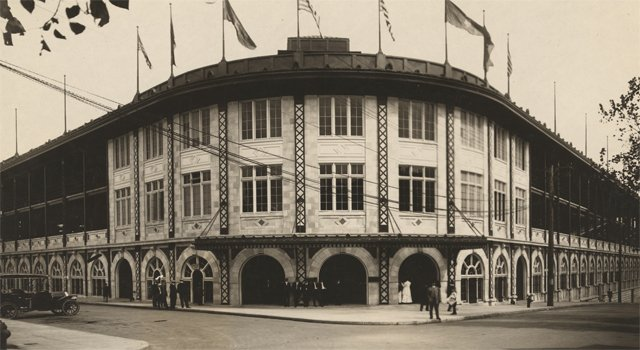The old Forbes Field in Pittsburgh
