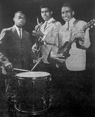 The Mellowtones from Rosavelt High: Ervin Bates; drums, John Hilson; bass and Wilton Crump; vocalist