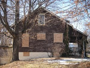 The author's childhood home. Photo courtesy of the author.