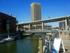 The Canalside redevelopment, featuring museums, restaurants, historic exhibits, and a full slate of annual festivals. Wikimedia Commons, Andre Carrotflower.