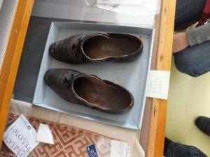 Thomas Alva Edison's slippers, now property of Edison's Birthplace Museum, Milan, Ohio.