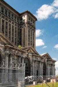 Michigan Central. Photo courtesy of  J. Gordon Rodwan.