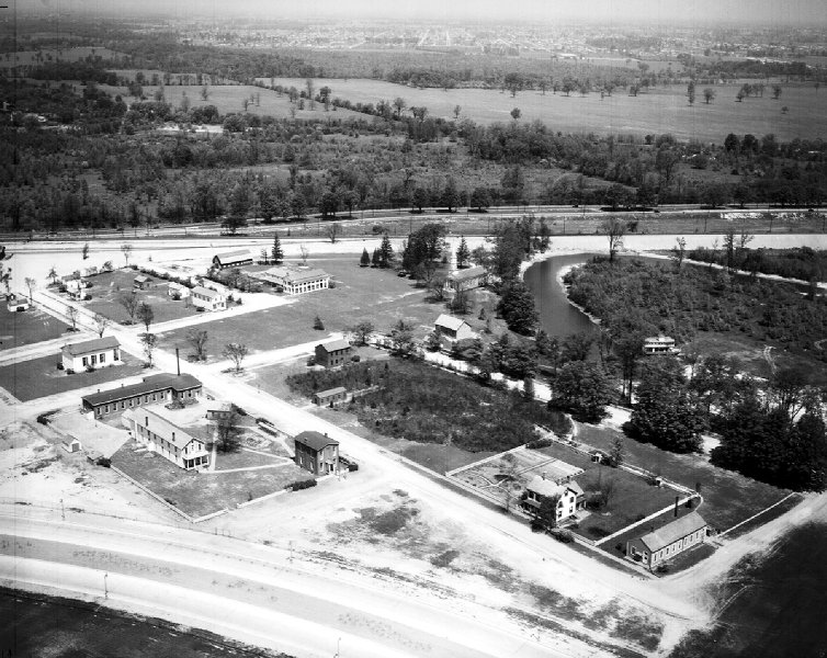 Greenfield Village construction, 1930s (Detroit News archive)