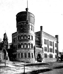 Grays Armory, site of Singers' Club concerts