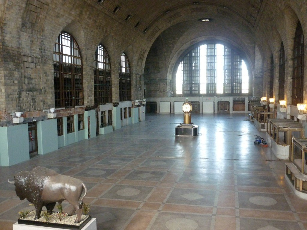 Volunteer preservationists work to restore Buffalo's vacant Central Train Terminal [Image credit: Alexa C. Kurzius]