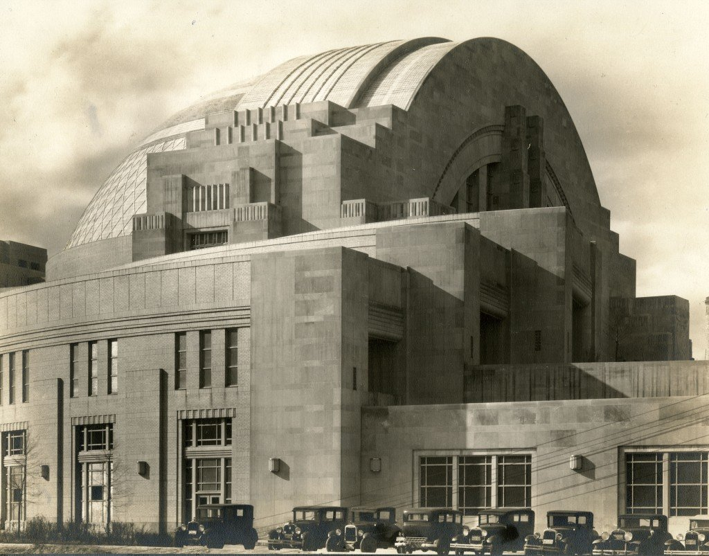 Cincinnati's Union Terminal turned their abandoned train terminal into a museum complex in 1990 [Image credit: Cincinnati Museum Center]