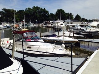 At the marina in Vermillion, Ohio.