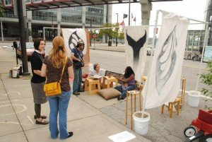 "Embody ""Soul Park"" at Cleveland's Park(ing) Day [photo credit: John Bryson]"