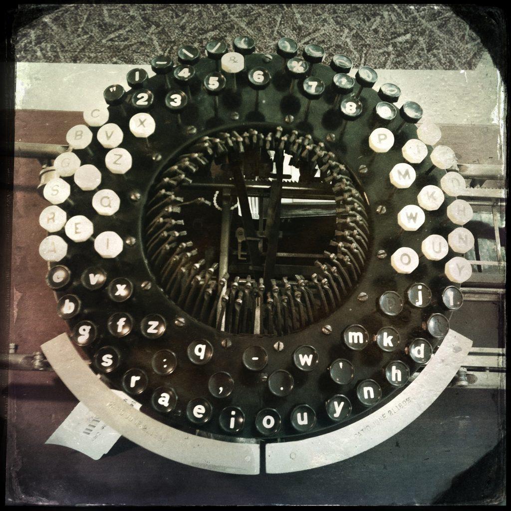 Crary Typewriter