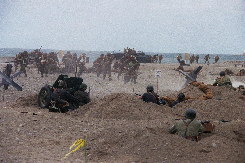 Storming The Beach At Conneaut - A WWII Reenactment - Belt
