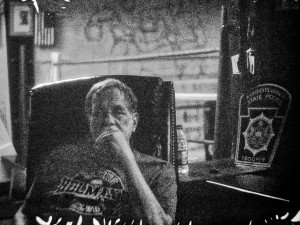 Jimmy Cvetic sitting