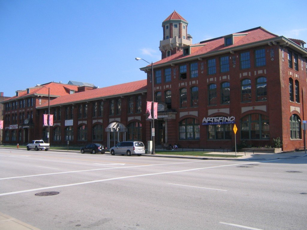 The former Tower Press Building [Photo credit: Clevelandguy, from Wikimedia Commons]