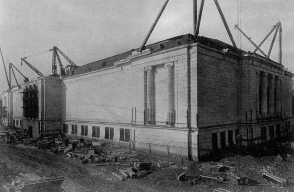 Building from the Southeast, November 3, 1914