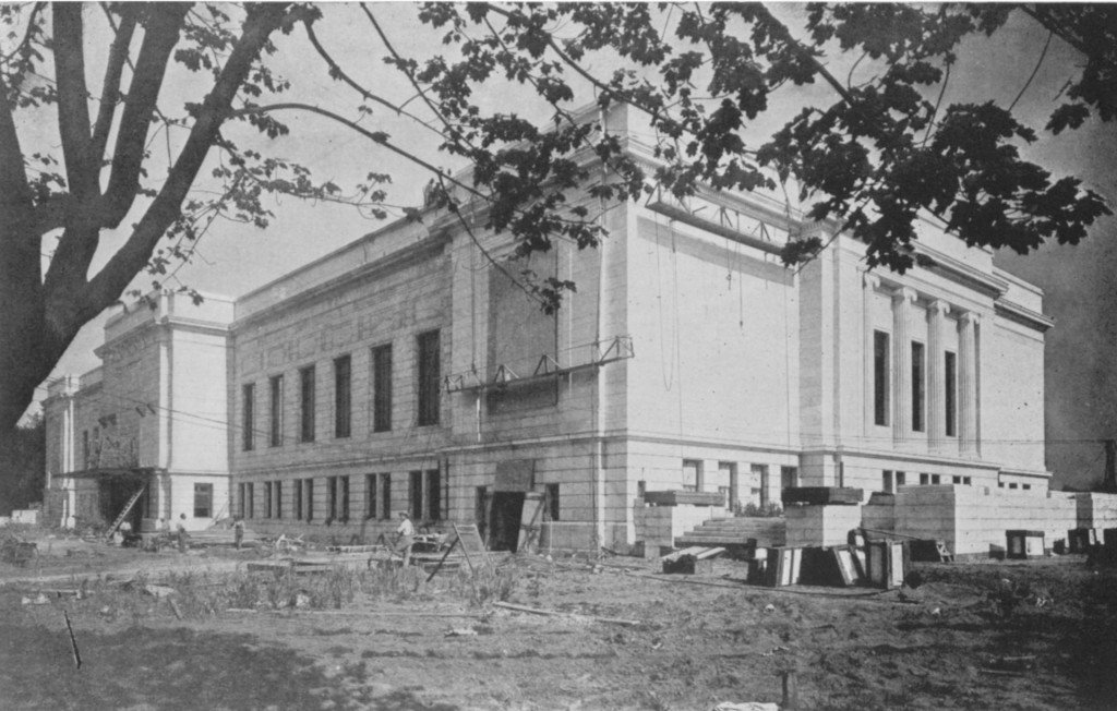 View of the Building from the Northwest, July 13, 1915