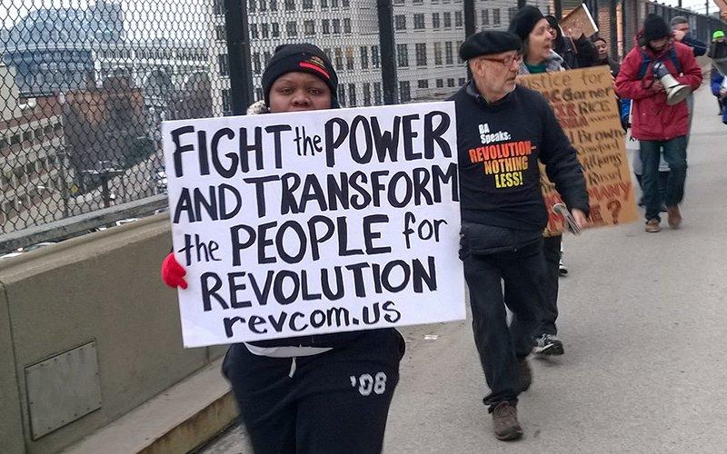 Cleveland Protests -  photo Bob Perkoski