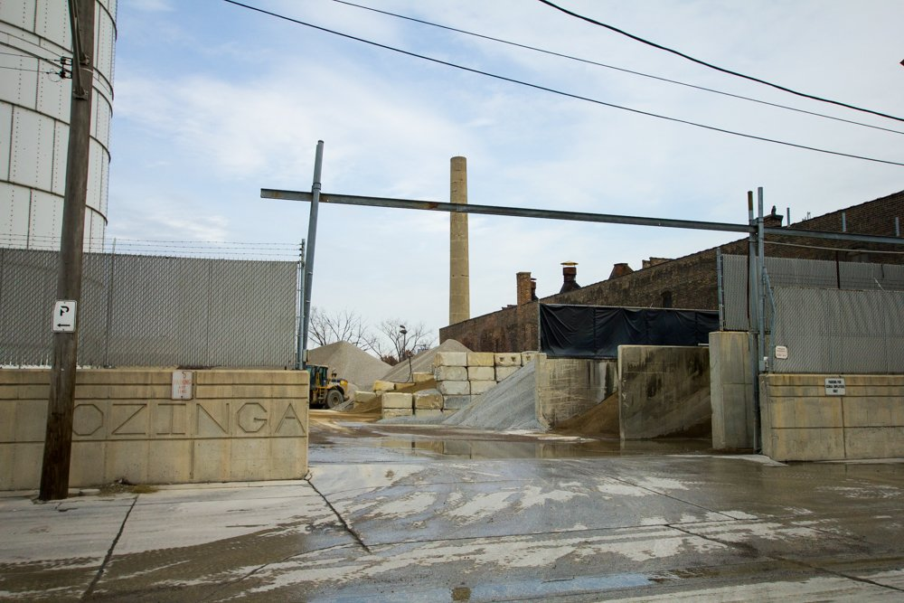 "Ozinga Brothers Inc. concrete operates at least three facilities in Chicago, including one in the Elston PMD it has occupied since the early '90s. Co-owner Tim Ozinga says that if companies like his are pushed out of the area, ""the cost of goods is going to be increased for everybody."" (Robin Amer)"