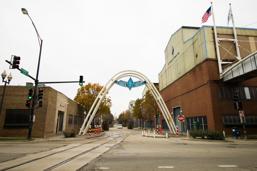 Demolition began at the Finkl site in early January. (Robin Amer)