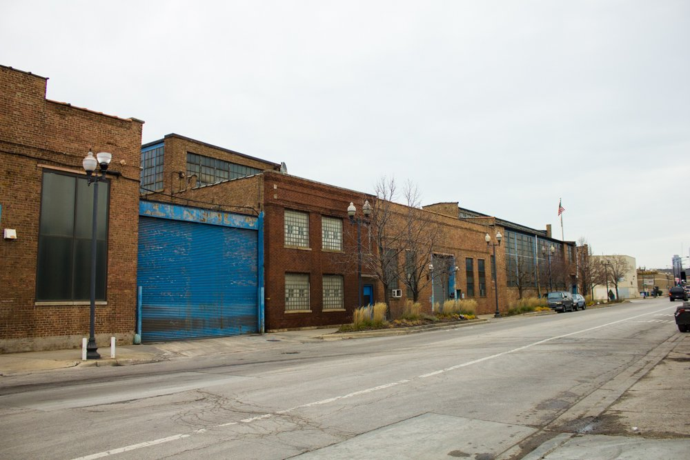 Finkl sits on nearly 28 acres of land in Lincoln Park. Developers say the opportunity to acquire a parcel this large in an area this valuable is incredibly rare. (Robin Amer)