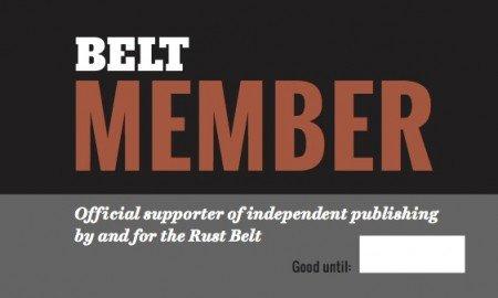 Belt Magazine Member Card