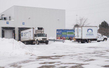 In 2014 alone, Food Bank trucks traveled a total of 292,396 miles and made 27,565 stops for pickup and delivery.