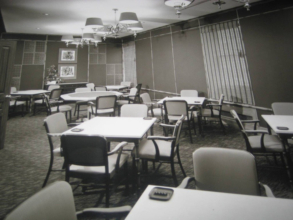 Youngstown Club card room [courtesy of Youngstown Club]