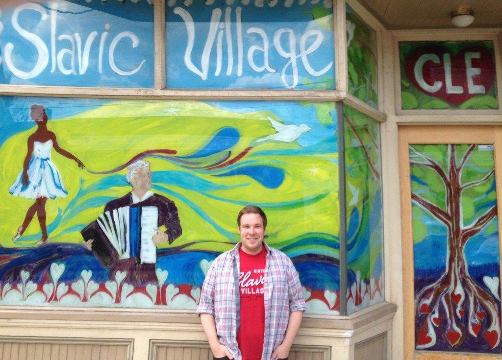 Slavic Village attorney and community activist Anthony Trzaska [credit: Daniel J. McGraw]