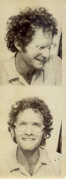 Bert, Mexico 1973. photo booth