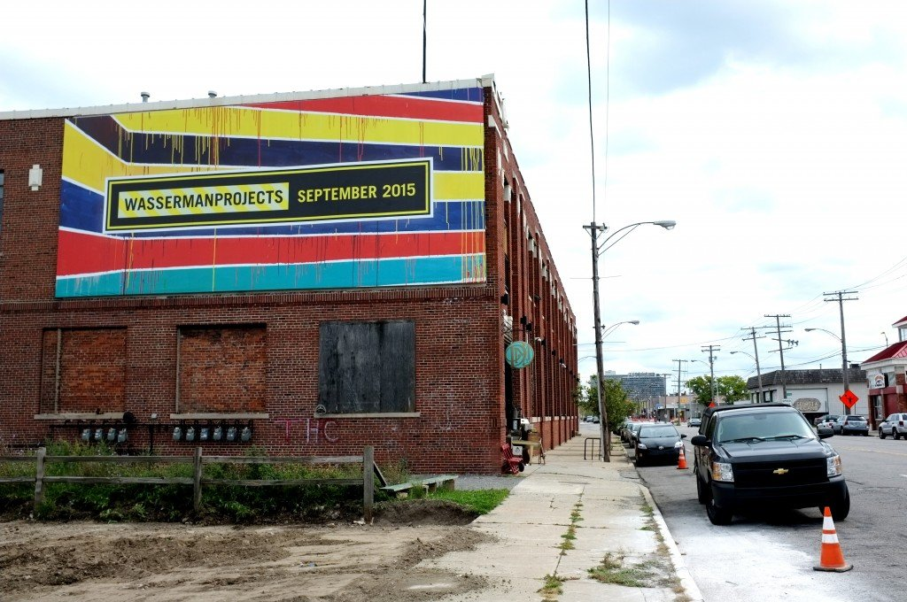 Wasserman Projects is a new art gallery in Detroit's Eastern Market.
