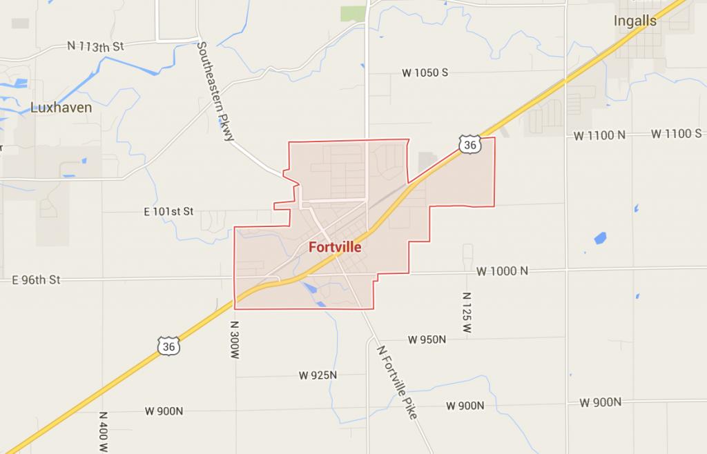 Fortville map cs
