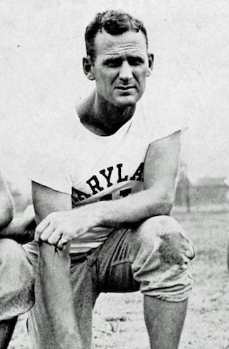 "Paul ""Bear"" Bryant, coach at University of Maryland, the year prior to coaching Kentucky in The Great Lakes Bowl. [source: 1946 The Terrapin University of Maryland year book]"