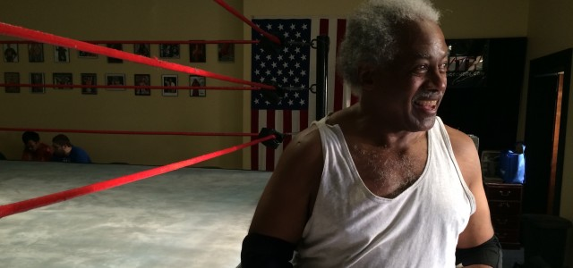 """Of Bibles and Body Slams: The Story Of Flint Wrestler Leo """"Father Time"""" Napier"""