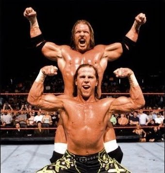 D-Generation - Triple H and Shawn Michaels