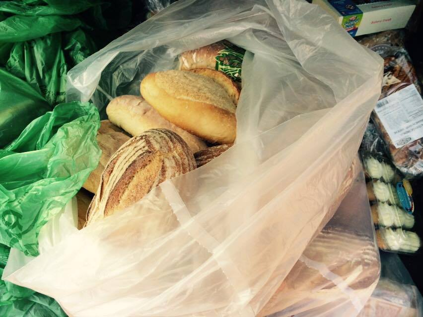 """A batch of """"rescued' food picked up by a 412 Food Rescue volunteer."""