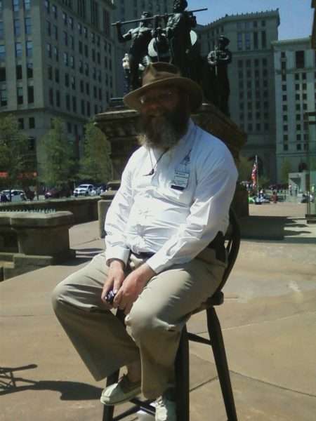Tim Daley, executive director of Cuyahoga County Soldiers and Sailors' Monument in Cleveland's Public Square.