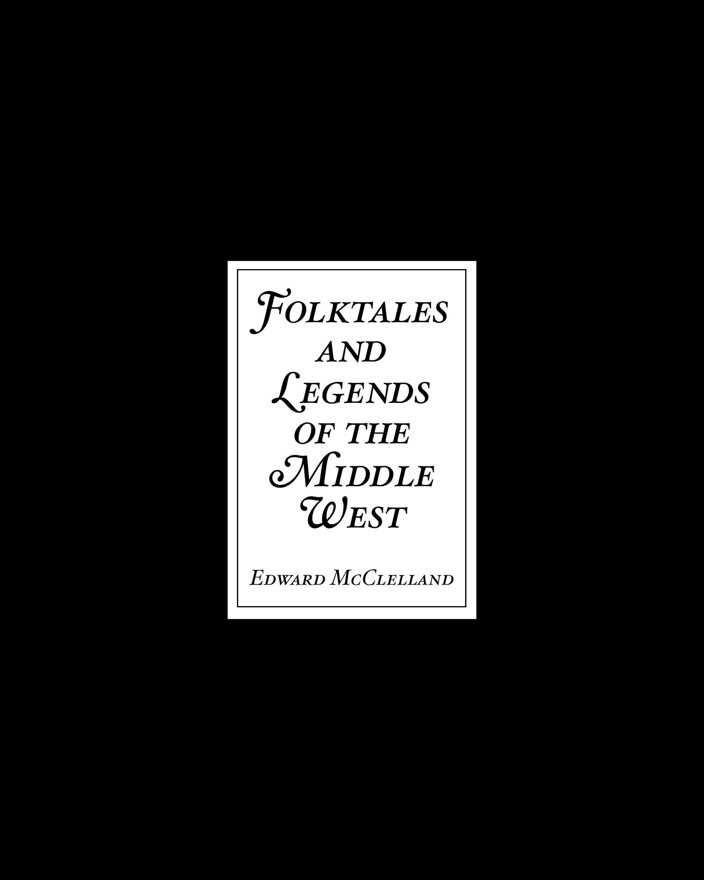 Folktales and Legends Middle West Cover