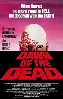 Dawn of the Dead theatrical poster - Public Domain