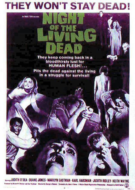 Night of the Living Dead theatrical poster
