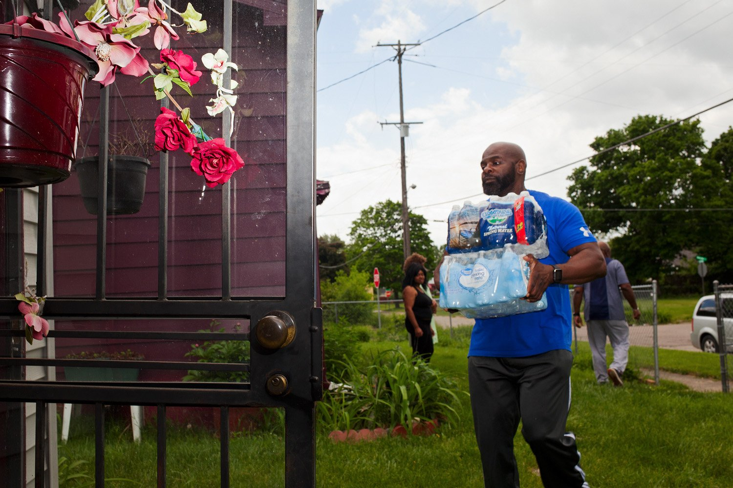 Flint water delivery