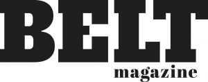 Belt Magazine Sticky Logo