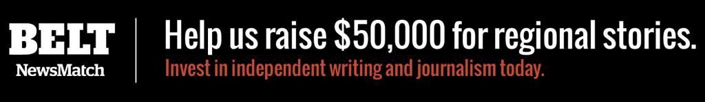 50k fundraiser homepage banner