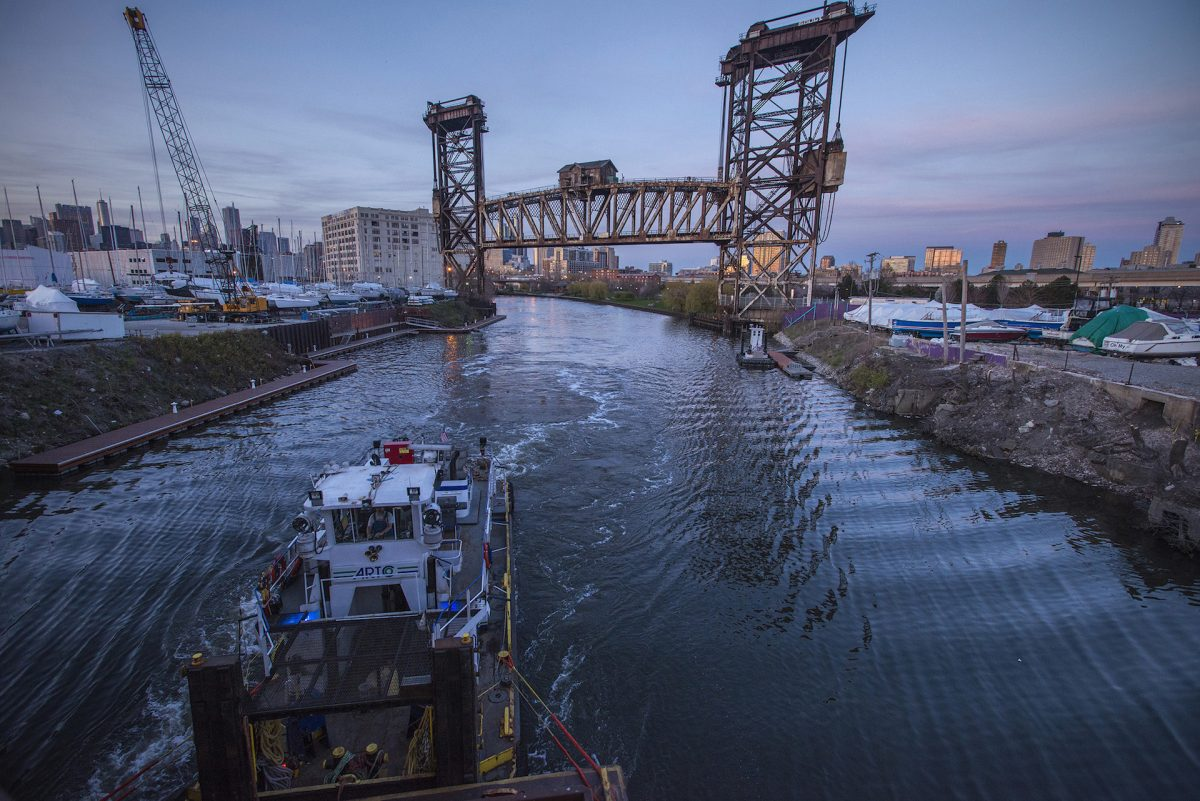 DeGrane - South Branch Chicago River