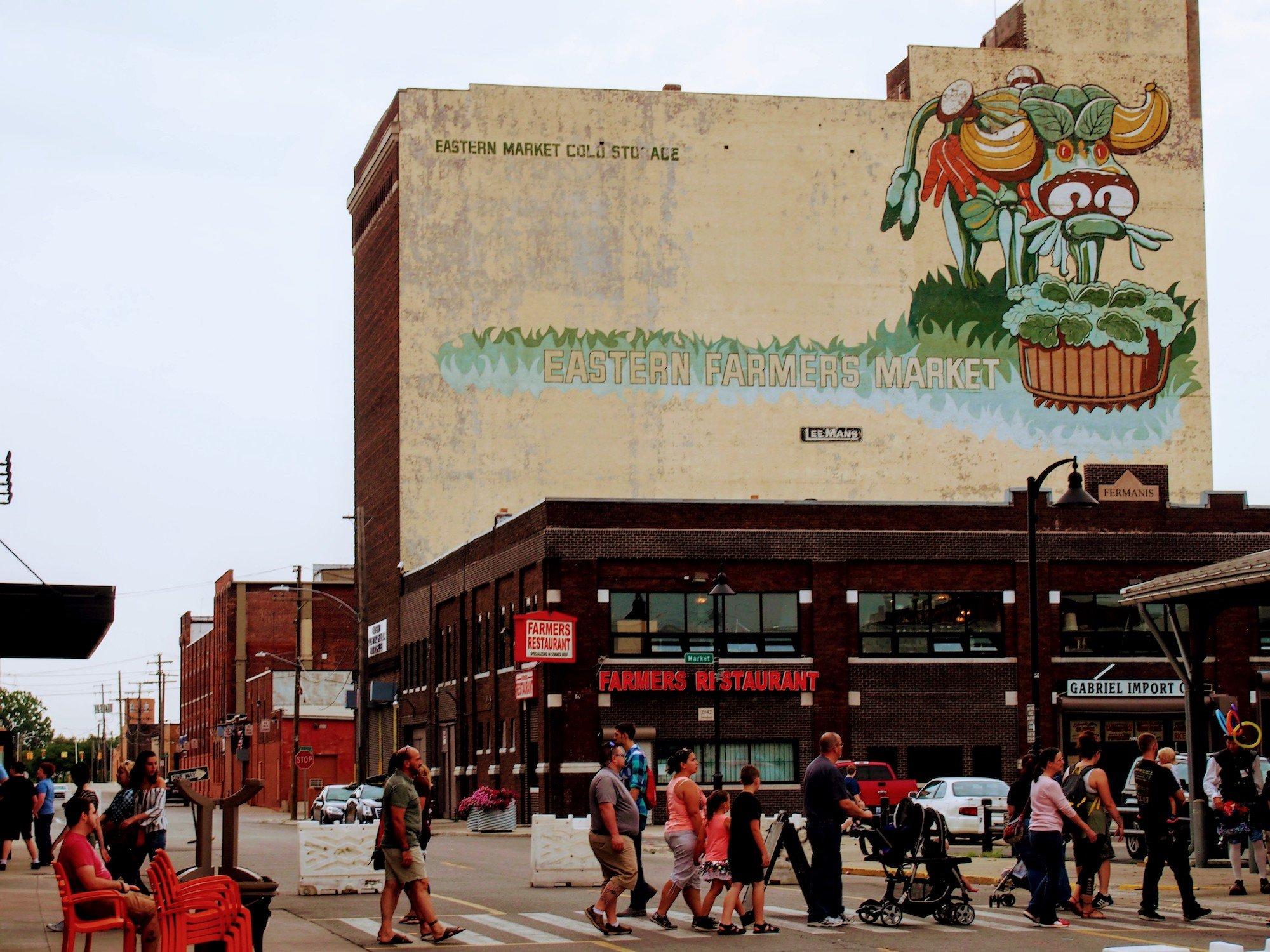 Detroit's Eastern Market