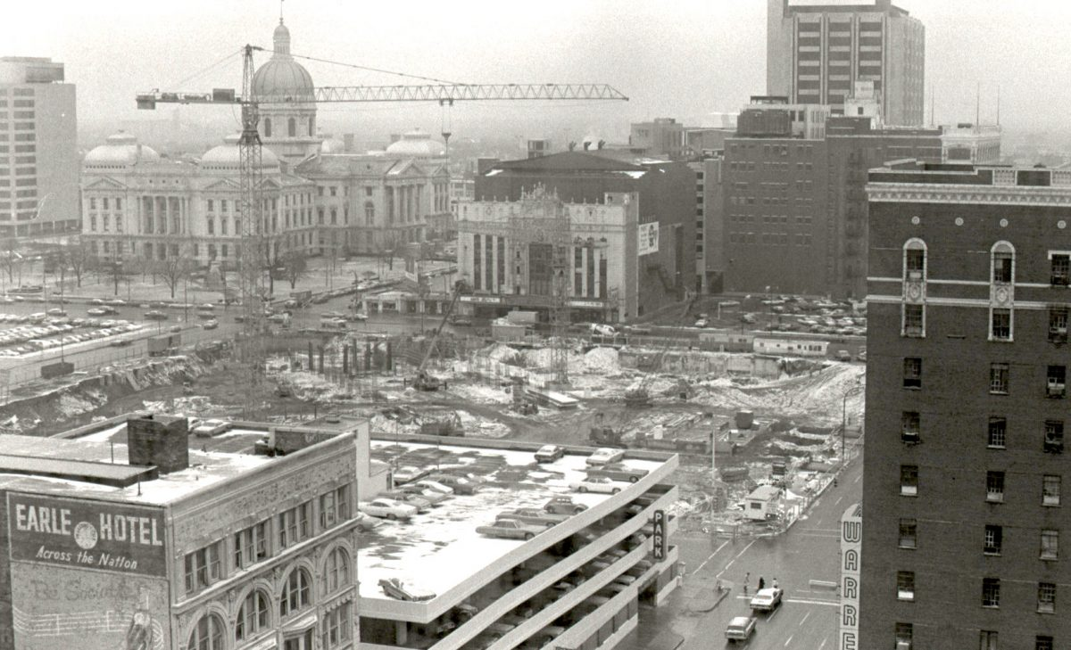 Downtown Indianapolis, 1975