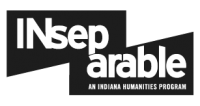 Indiana Humanities - INseparable logo (bw)