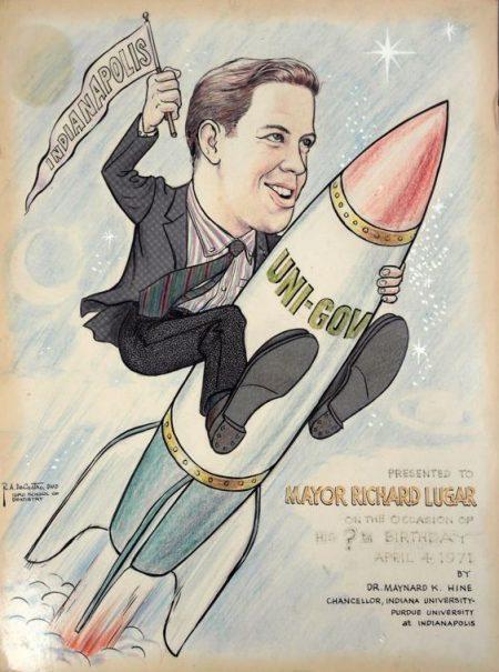 Riding the Unigov Rocket, 1971